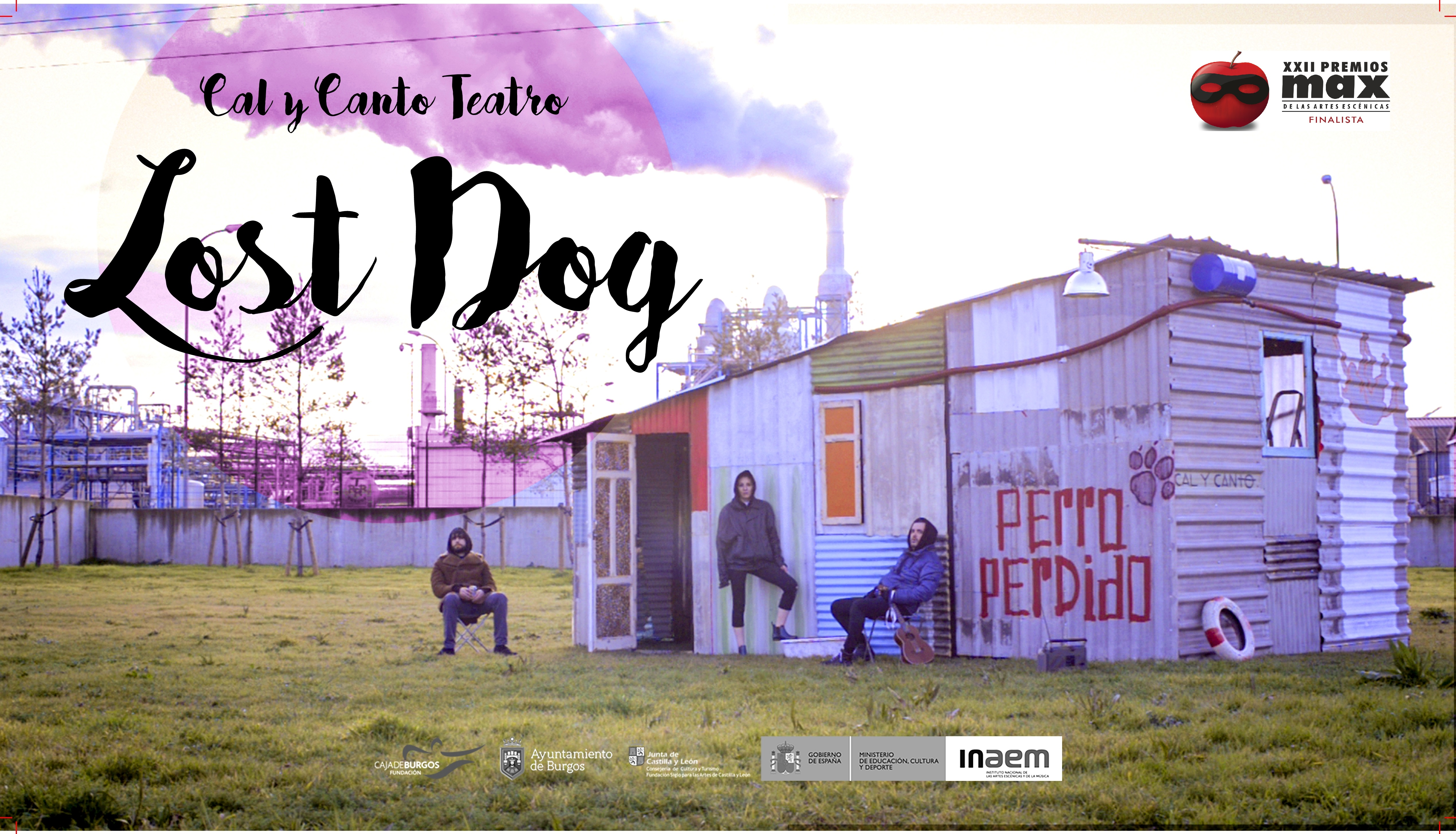 CARTEL LOST DOG, MENCIÓN FINALISTA MAX